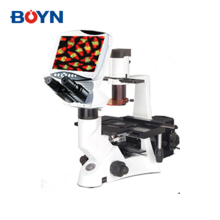 DMS-851 Excellent quality image&high resolution objectives Digital LCD inverted biological fluorescence microscope