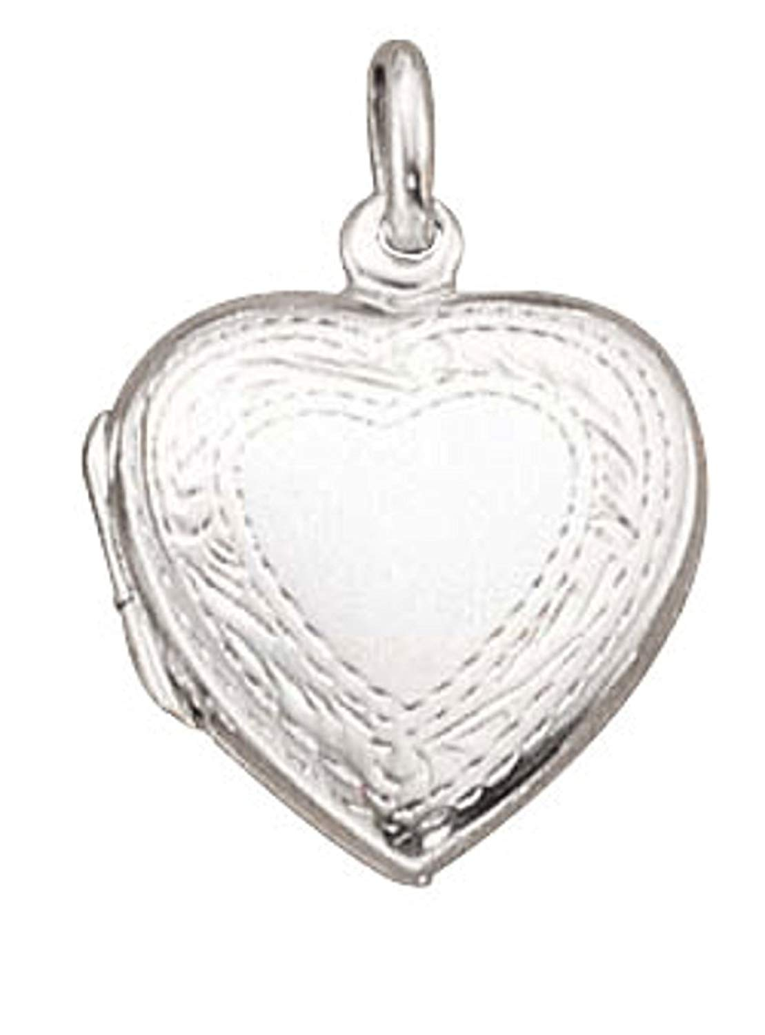 Sterling Silver Girls .8mm Box Chain Single Parent Family Child Pendant Necklace