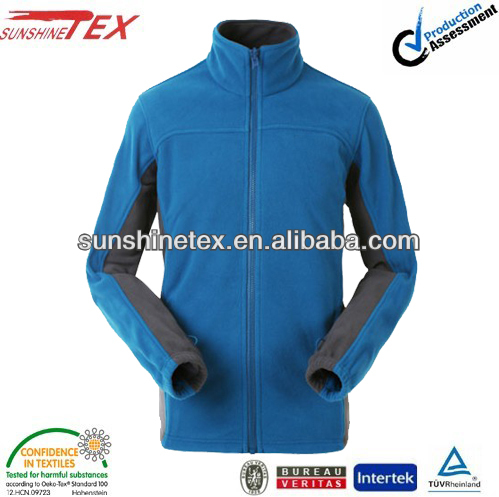 polar fleece jacket with elastic cuff korean clothing winter garment