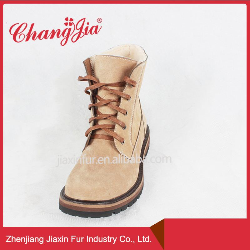 Long Term Supply Genuine Leather Boots For Men