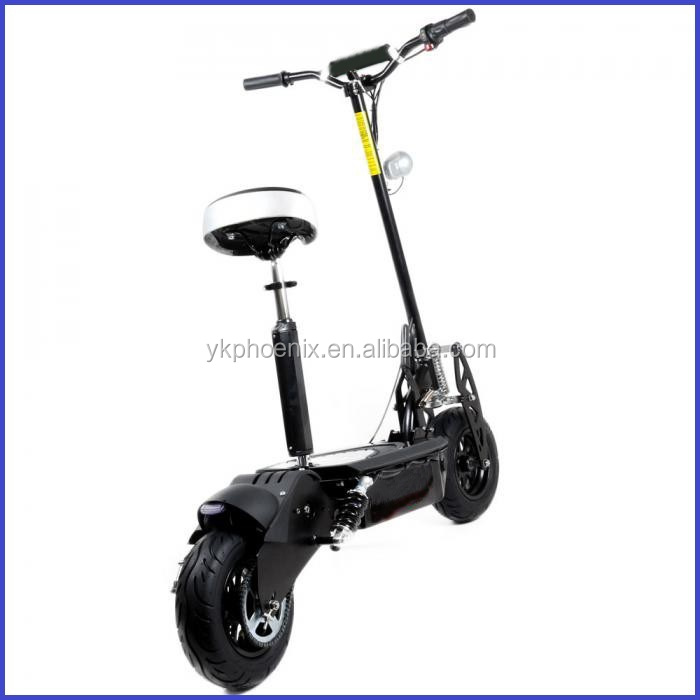 "1600W 48V Brushless Moto 2 Wheel Electric Scooter with 12"" Wheel (PES02-1600W)"