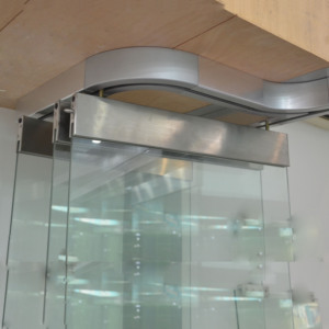 china manufacturer office partition glass wall frameless folding glass doors price