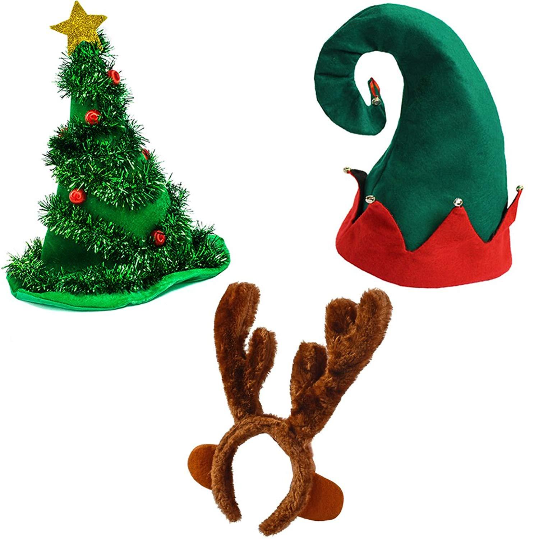 b82dd226dc09e Get Quotations · Funny Party Hats Christmas Hats - Santa Hat