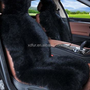 Terrific Genuine Long Hair Pile Black White Lambskin Sheep Fur Seat Cover Car Cushion Pads Buy Cushion Pads Seat Cover Car Fur Sheepskin Car Seat Covers Alphanode Cool Chair Designs And Ideas Alphanodeonline