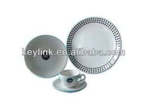 High quality novel brass dinnerware set