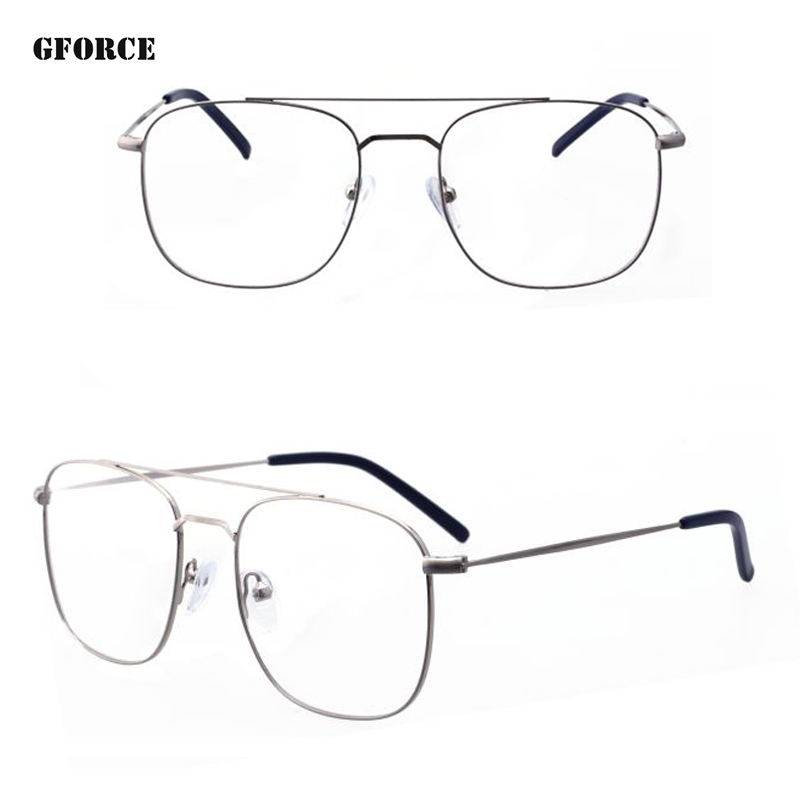 2018 new model custom logo fashion eyewear high quality metal optical eyeglasses frames