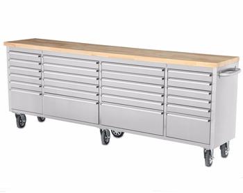 96 Inch Heavy Duty Garage Workshop Cabinets,Garage Tool Storage ...