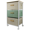 Sturdy Wooden Handles Boxes Cabinet , Moving Small Baby Clothes Drawer Cabinet