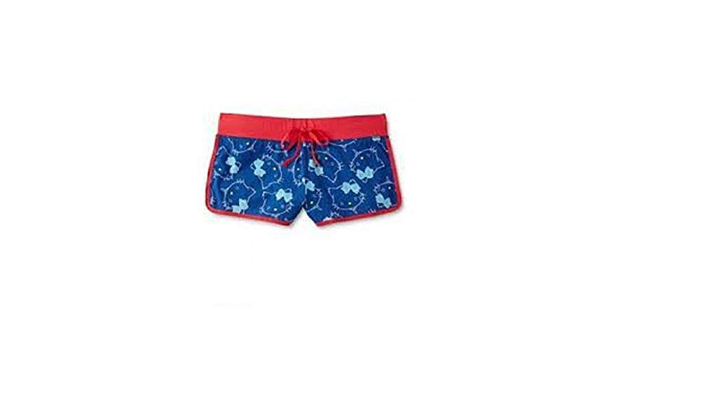 a0452e33c Get Quotations · SANRIO Hello Kitty Charmmykitty Women's Pajama Shorts Red  and Blue