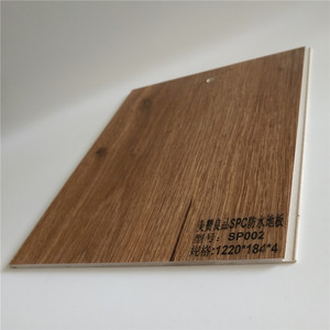 2018 Hot sale 4mm Click SPC Plank Flooring for Indoor Residential Commercial usage