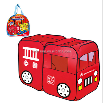 sports shoes 8f0b2 e9c79 Large Children Fire Engine Truck Pop-up Playhouse Fireman Play Tent - Buy  Large Children Fire Engine Truck,Pop-up Playhouse,Fireman Play Tent Product  ...