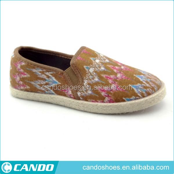 Patrón decorativo diseño de corte bajo durable mujeres indias juti alpargata  zapatos