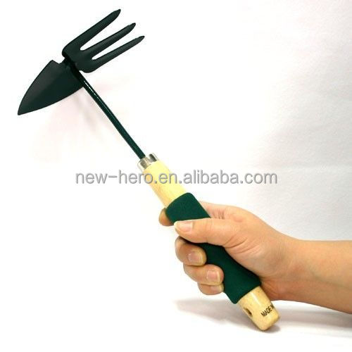 Multi home garden yard gardening hoe shovel spade rake for Quality garden hand tools