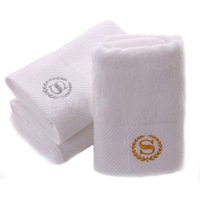 Professional 100% cotton hilton hotel bedding and bath towels for hotel motel