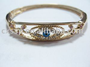 2013 Evil Eye Golden Bangle