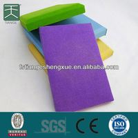 Flame Retardant And Popular Velvet Sound Absorbing Fabric Track Acoustic Panel And Board For Indoor Soundproofing