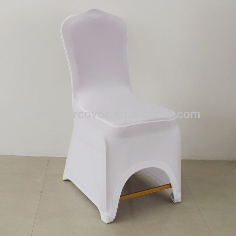 Four-side Stretchable Leather Pocket Chair Cover For Wedding