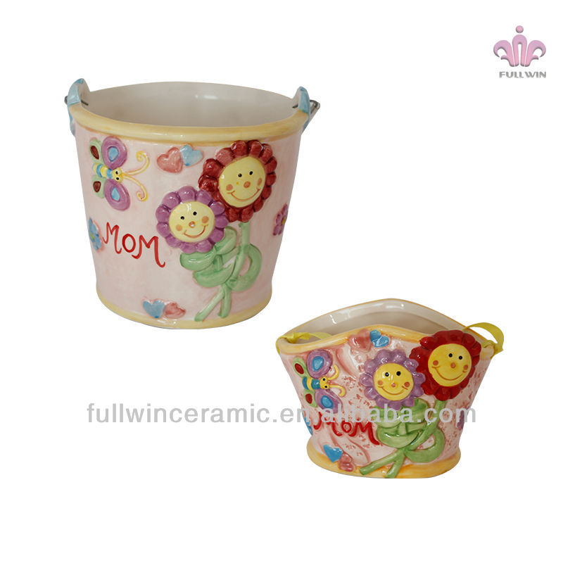 2018 new design Cartoon hand print multiple colour Art style ceramic cup,novelty mothers day <strong>gifts</strong>