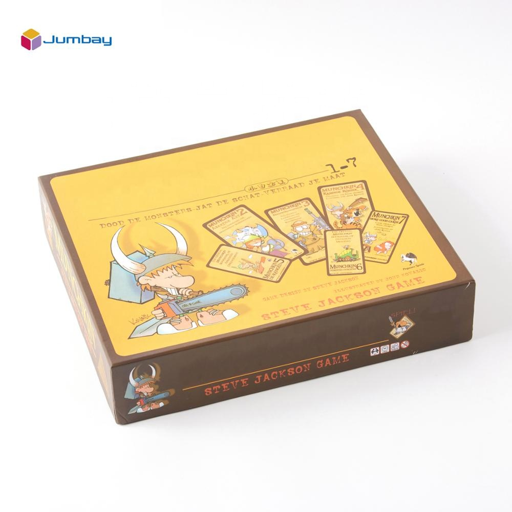 Board game plastic kaart miniaturen stand game producent