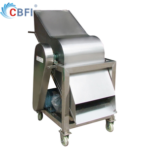 Guangzhou factory industrial ice crusher machine to cut 20kg block ice into small pieces