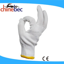 10 Gauge Bleach Industrial Cotton Labor Glove/Knitted Hand Gloves