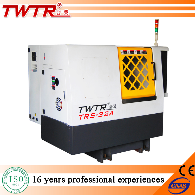 TRS32A700 Gang Tooling And Turret Type Auto Bar Feeding CNC Lathe
