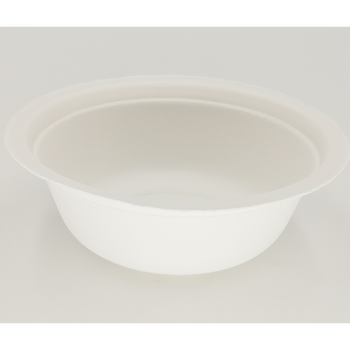 Customized Recyclable White Biodegradable Ramen Bowl 350 ML