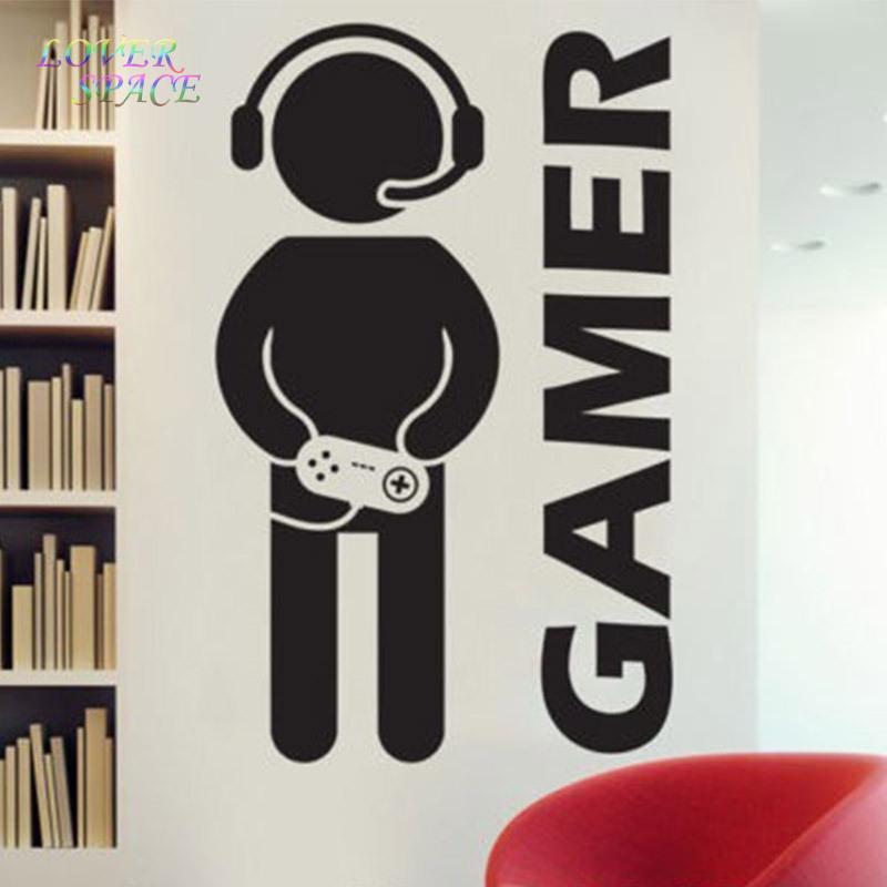 gamer wandtattoos werbeaktion shop f r werbeaktion gamer wandtattoos bei. Black Bedroom Furniture Sets. Home Design Ideas
