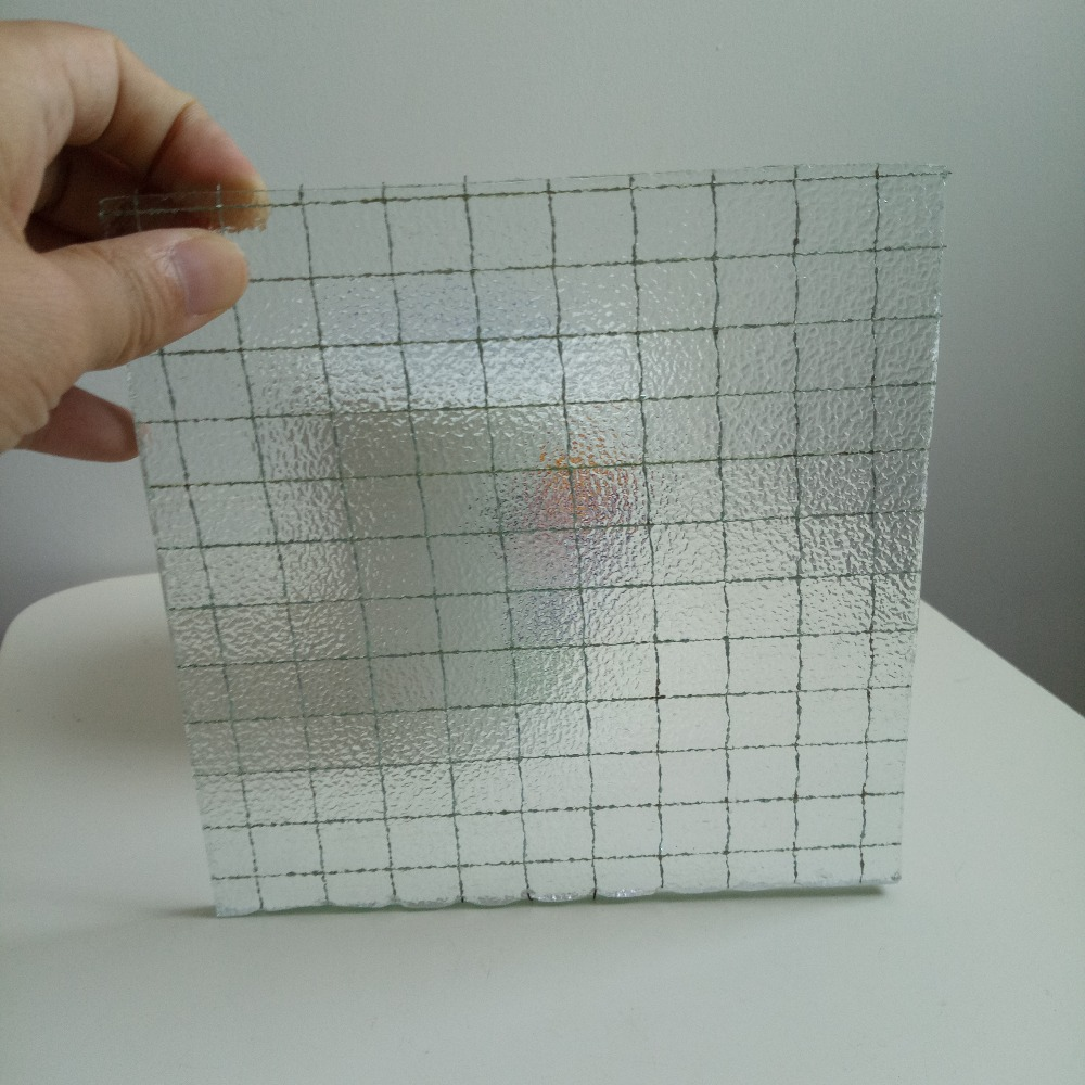 Thriking glass 6.5mm wire mesh security glass price