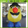 hot sale popular advertising durable material cute inflatable potato