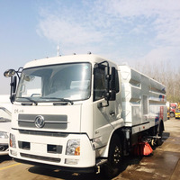 4x2 High Pressure Road Washing and Sweeping Truck Vacuum Road Sweeper Truck /Street cleaning truck for sale