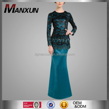 Latest Baju Kurung Designs Modern Elegant Lace Casual Clothing Abaya In Dubai Muslim Beautiful Malaysia Kebaya Abaya