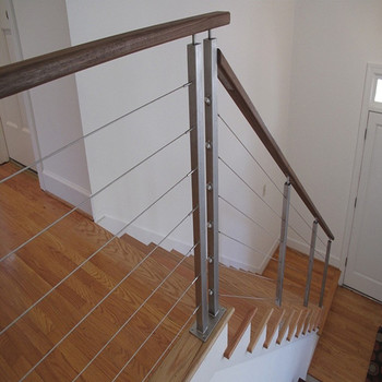 Stainless Steel Cable Deck Rails Wire Railing Systems For Decks ...