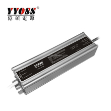 220V LED transformer 12V / 24V DC Aluminum Waterproof 60W LED transformer