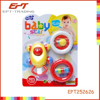 Baby toys baby rattle hand ring bell Tambourine toys for baby