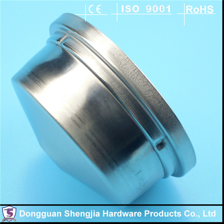 Deep drawing stainless steel polishing protective cover
