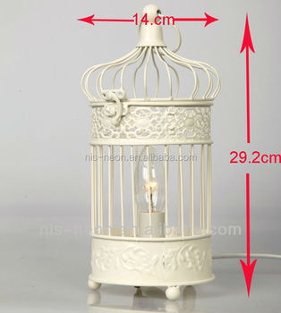 Decorative Birdcage Table Lamp Candle Holder Ns 124029 Buy