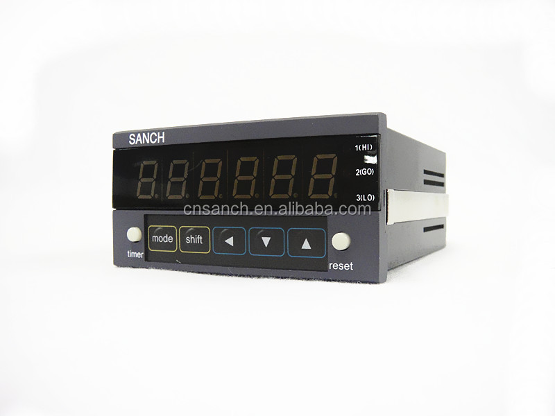 SANCH Economy model 6 digit digital textile counter meter/wire drawing length counter/fabric counter meter