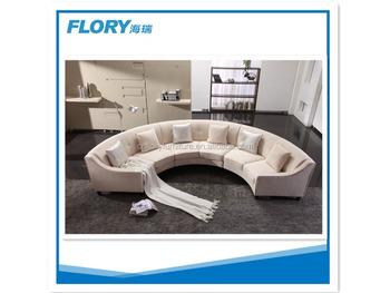 Attirant Modern Luxury Semi Circle Sofa