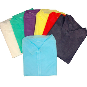 Eco-friendly PP Nonwoven hospital scrub suits