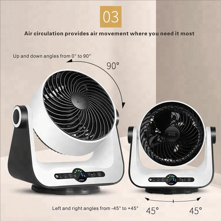 2018 NEW AC/DC remote control electric summer cool energy saving OEM/ODM House Table 3D Air Circulator Fan