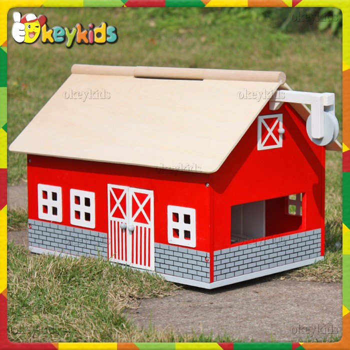 Whole Baby Wooden Toy Barn Top Fashion Kids Best Design Children