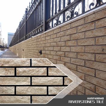 227x60 Exterior Ceramic Decorative Rock Walls Tiles Design Facade