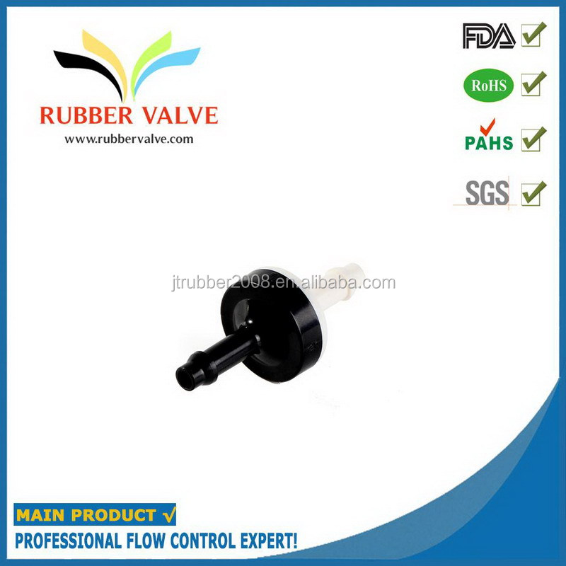 low pressure ABS Silicone plastic diaphragm one way valve for air mattress to prevent back flow