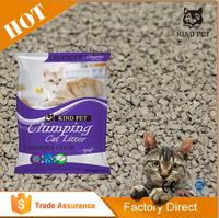 OEM and ODM Eco-friendly bentonite cat litter sand