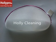 Polyester White Durable Cute Woman Laundry Bra Wash Bag
