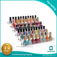 2017 Latest Design Moveable Diy Nail Polish Rack 6 Tier