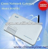 best Cross-Network Gateway,RoIP-302M(Radio over IP)ROIP/voice over ip networks