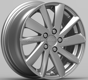 14X6.0 China wholesale wheels for cars 8X100/108 Guangzhou factory rim black aftermarket rotiform alloy wheel