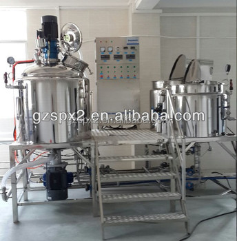 2000l douchegel vacuüm homogenisator mixer, cosmetische making machine uit china leverancier